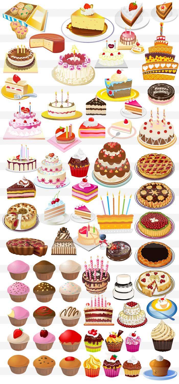 ショートケーキ・ホールケーキ・カップケーキ | デザイン資料