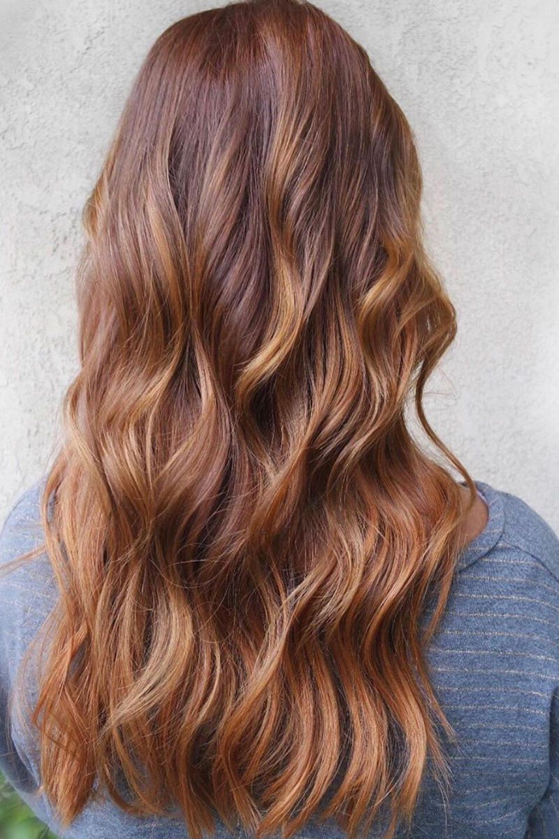 The Most Flattering Hair Colors For Warm Skin Tones Hair Color For Warm Skin Tones Red Hair With Blonde Highlights Red Blonde Hair