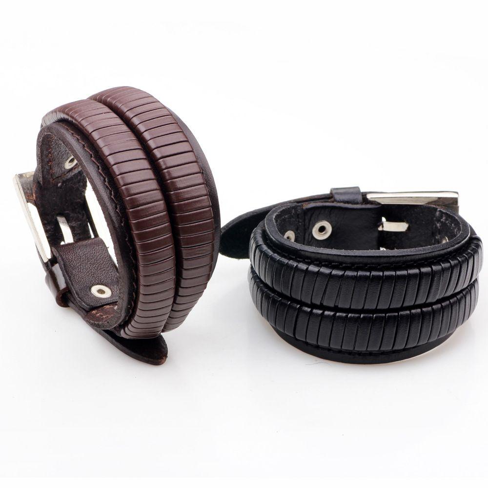 Tiger totem new fashion braided leather bracelets sex men bangle