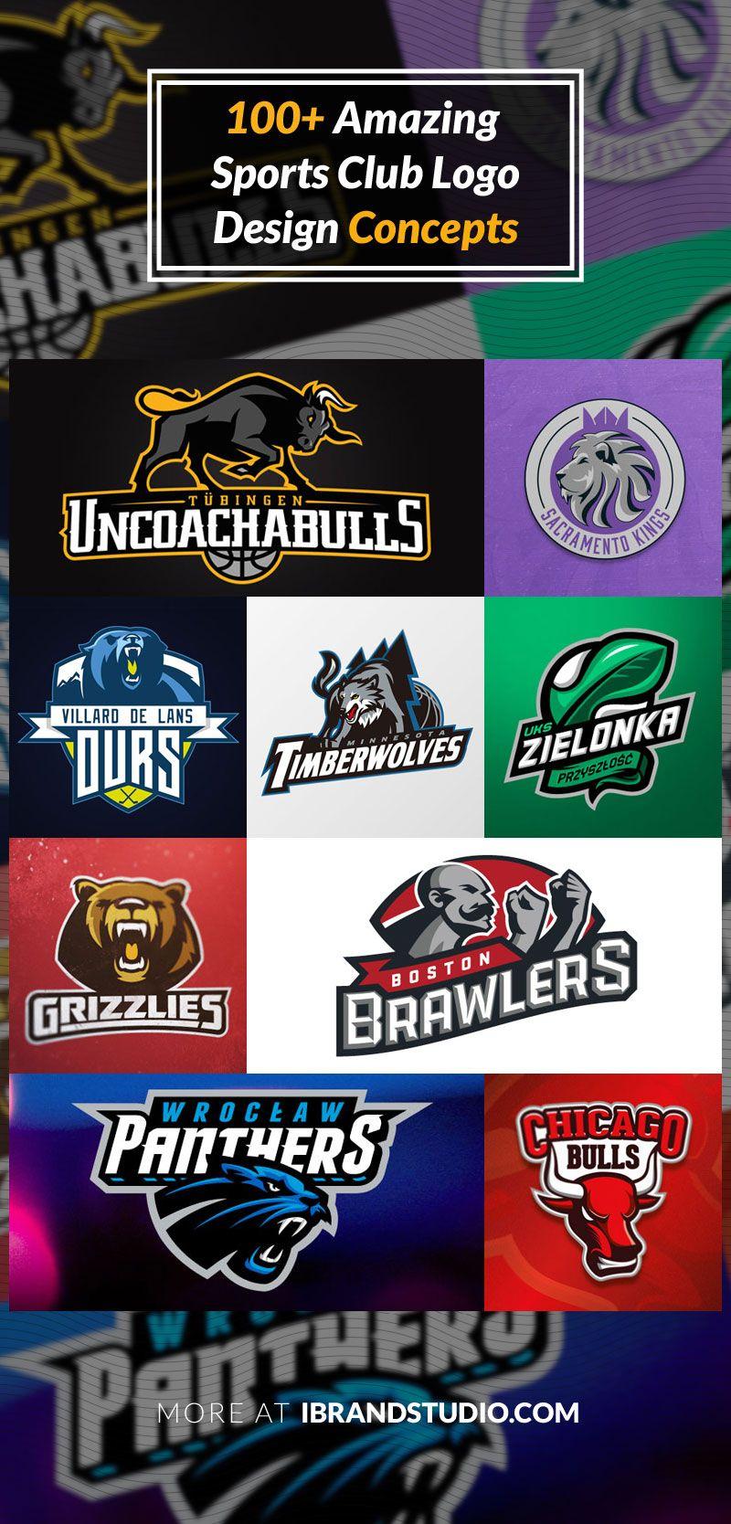 Logo Design Inspiration 100 Sport Club Logos Logo Design Sports Logo Inspiration Logos