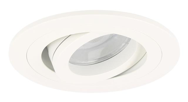 Dimbaar led inbouwspot argenta wit watt vervangt w