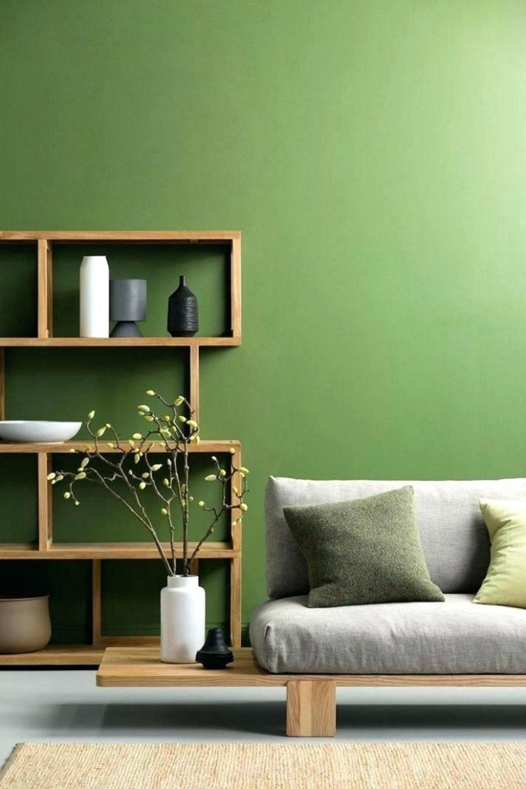 15 Awesome Living Room Green And Purple Interior Color Ideas