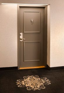Apartment Front Door - Interior Design