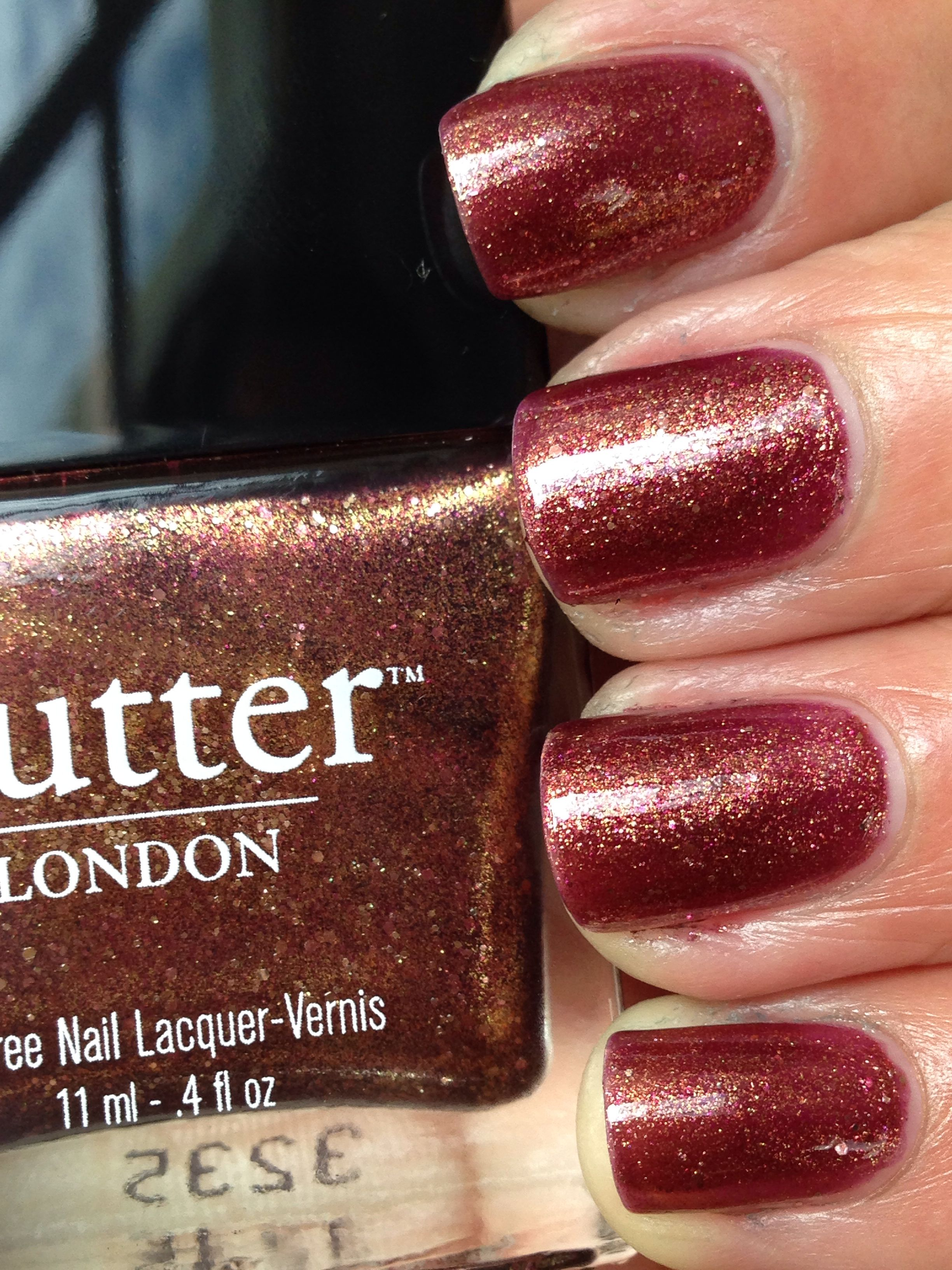 butter LONDON Brown Sugar   lacquers that trend   Pinterest