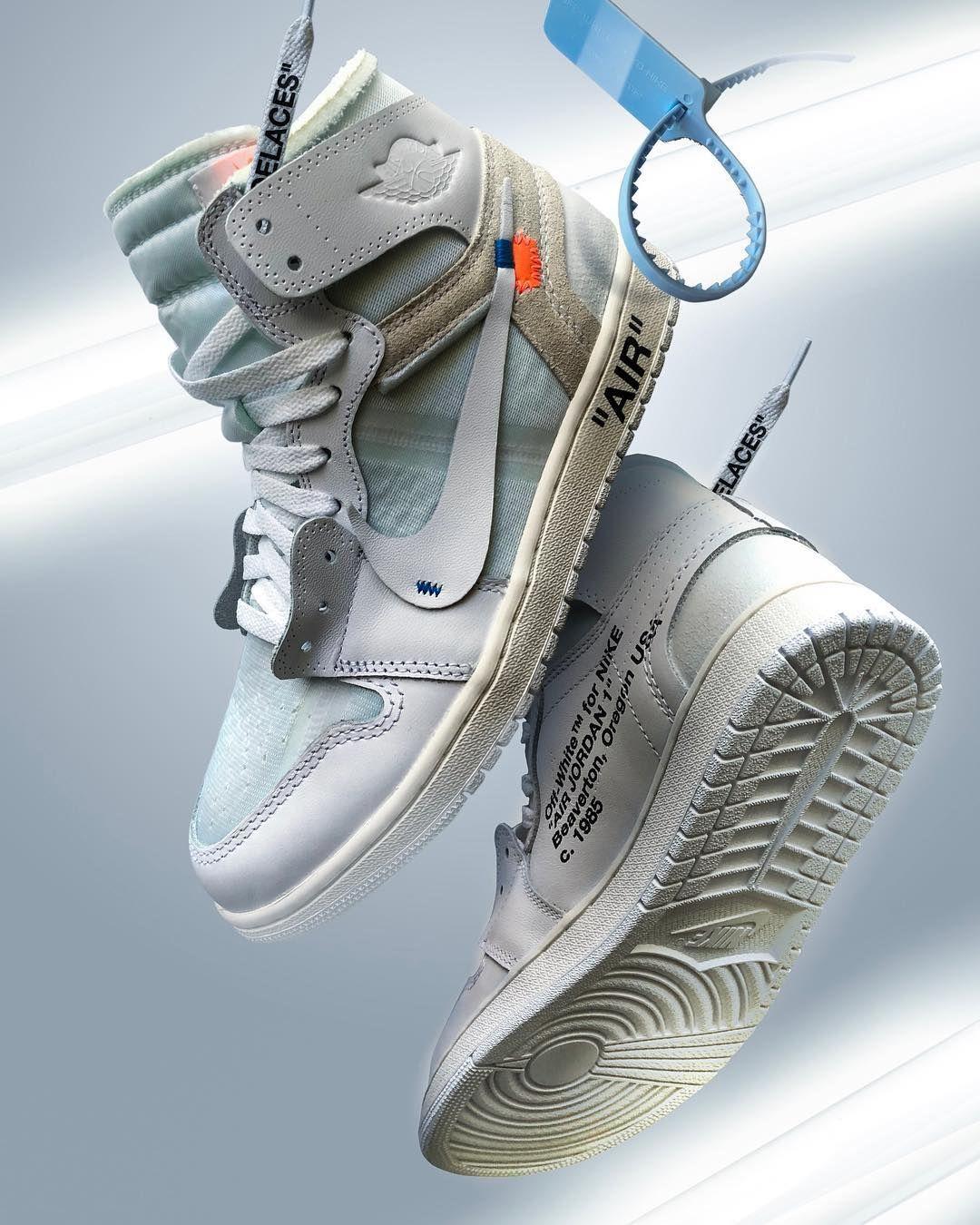 Off White X Nike Jordan 1 Hype Shoes Sneakers Men Fashion Sneakers Nike Jordan