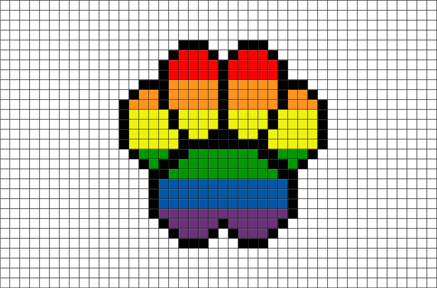 Cute Animal Pixel Art Templates Google Search Pixel Art