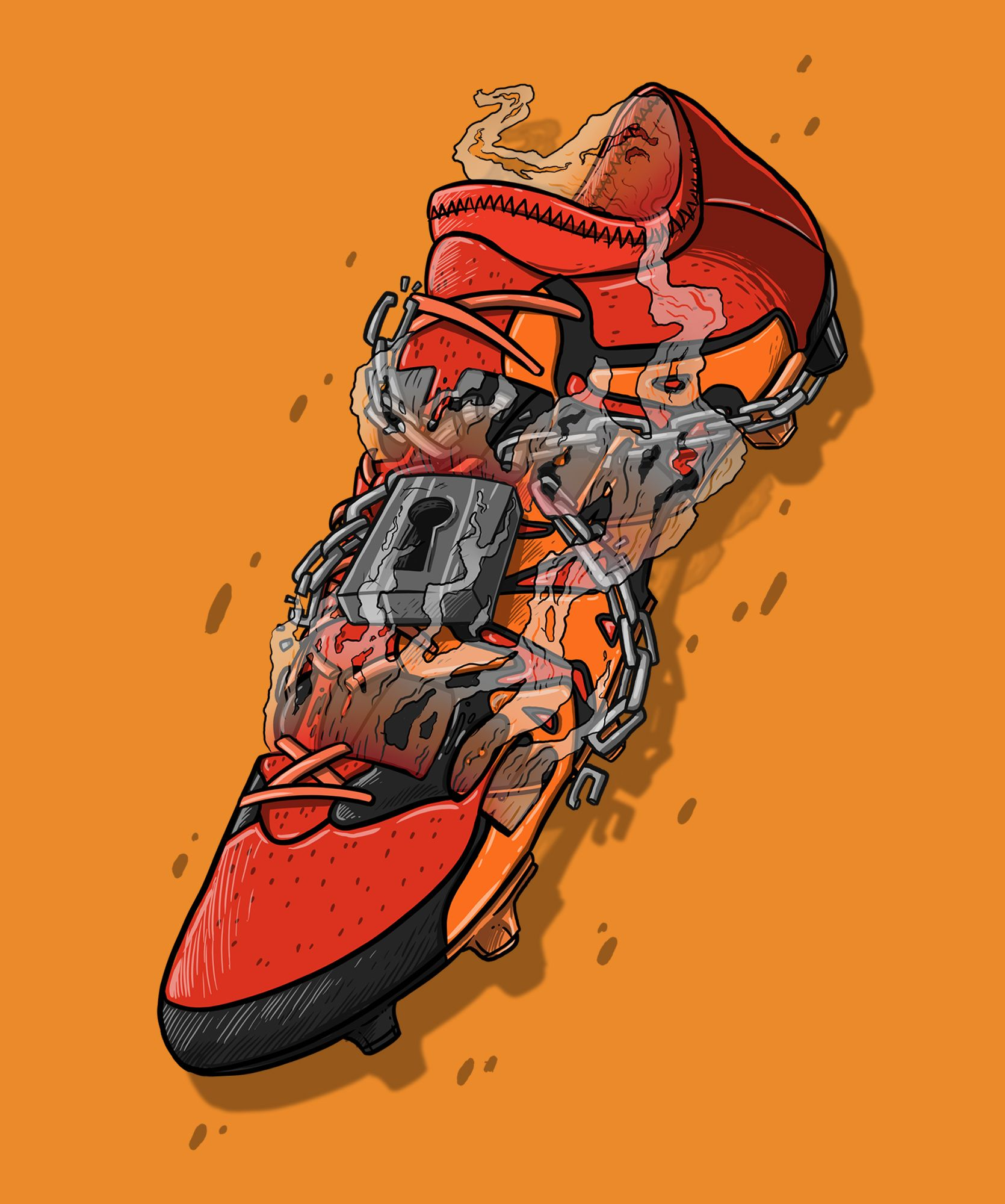 Football Art - Adidas X Primeknit