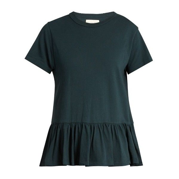The Great Distressed Peplum Top Discount Latest Best Place To Buy 1hpvxn