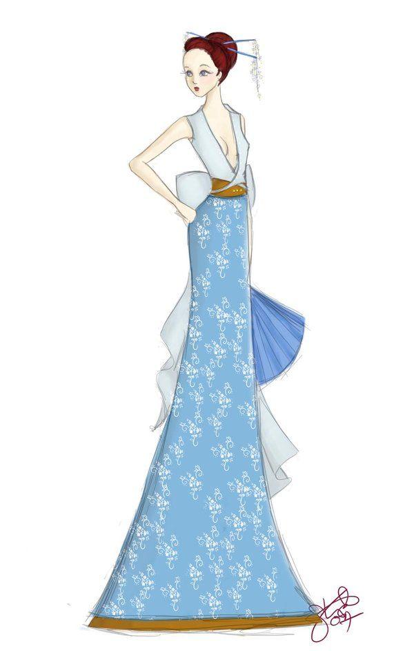 Modern Kimono by sparklefly on DeviantArt