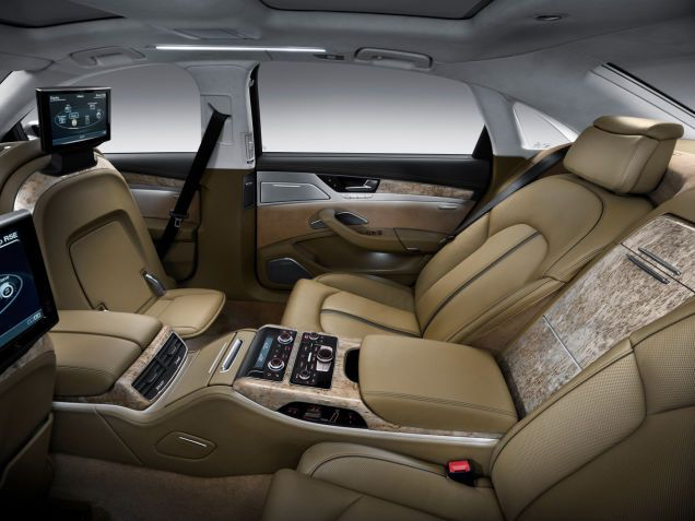 The Ten Most Ridiculous Luxury Car Features Audi A8 Luxury Car Interior Car Features
