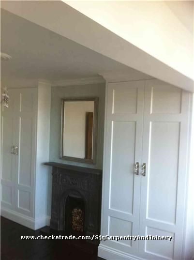 fitted alcove wardrobes