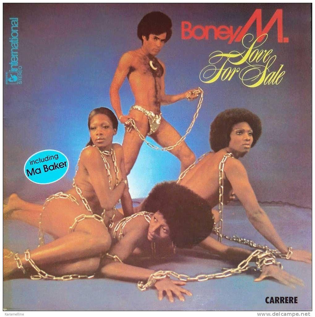 1977 Boney M Love For Sale Vinyl Lp Schallplatten Album Cover