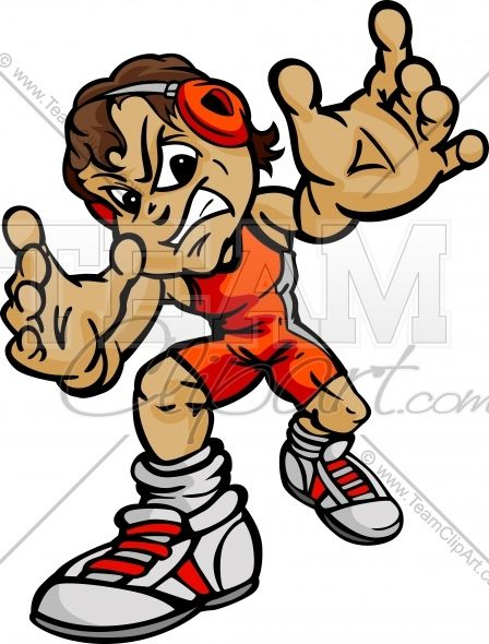 wrestling cartoon body boy wrestler cartoon vector image team rh pinterest com
