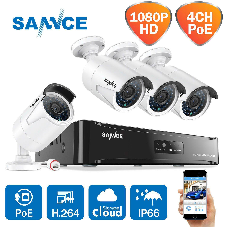 Außenkamera 1080P Full-HD IP-Kamera Überwachungskamera Webcam IPCam Outdoor