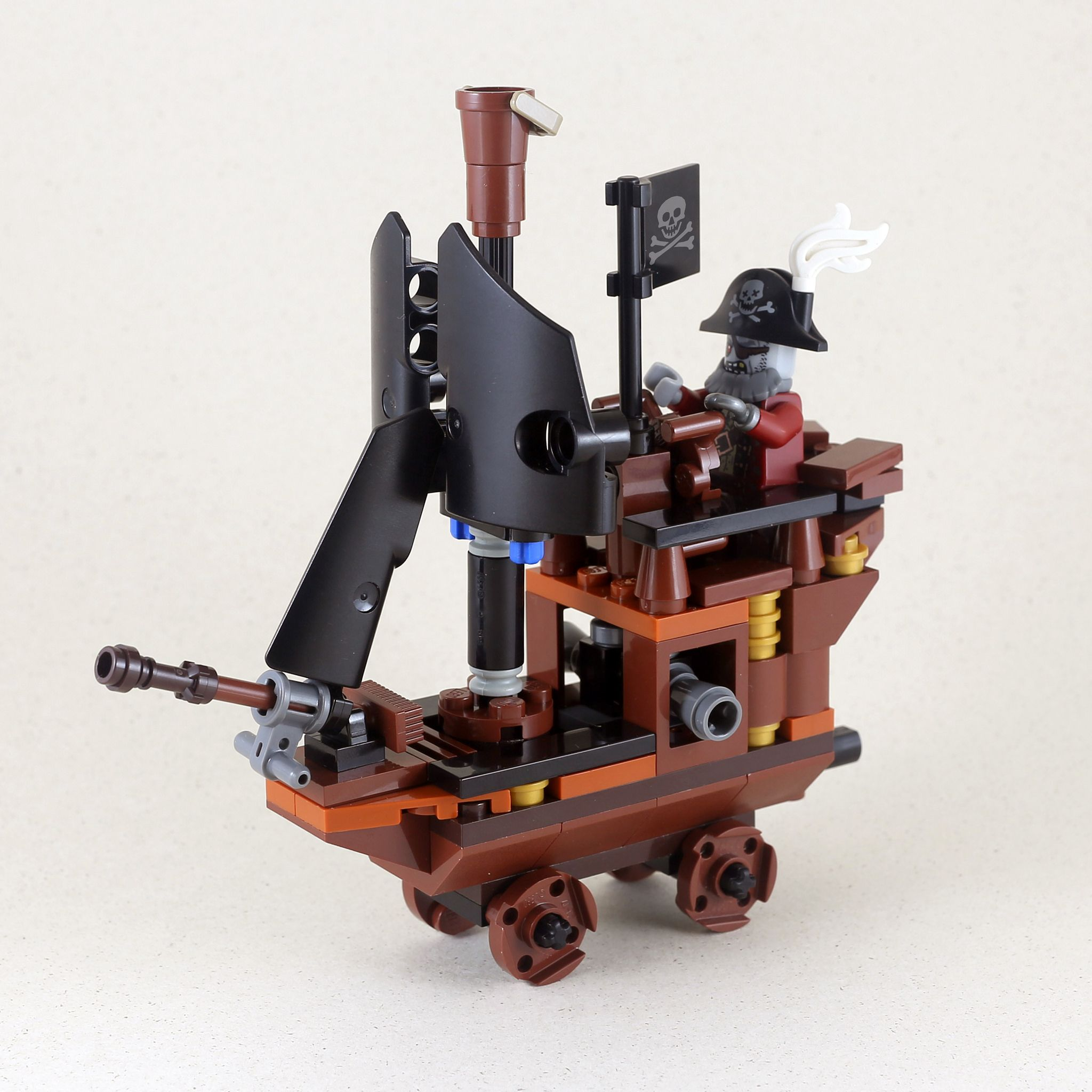 Zombie Pirate Ship-1 | Pirate ships, Lego and Lego creations