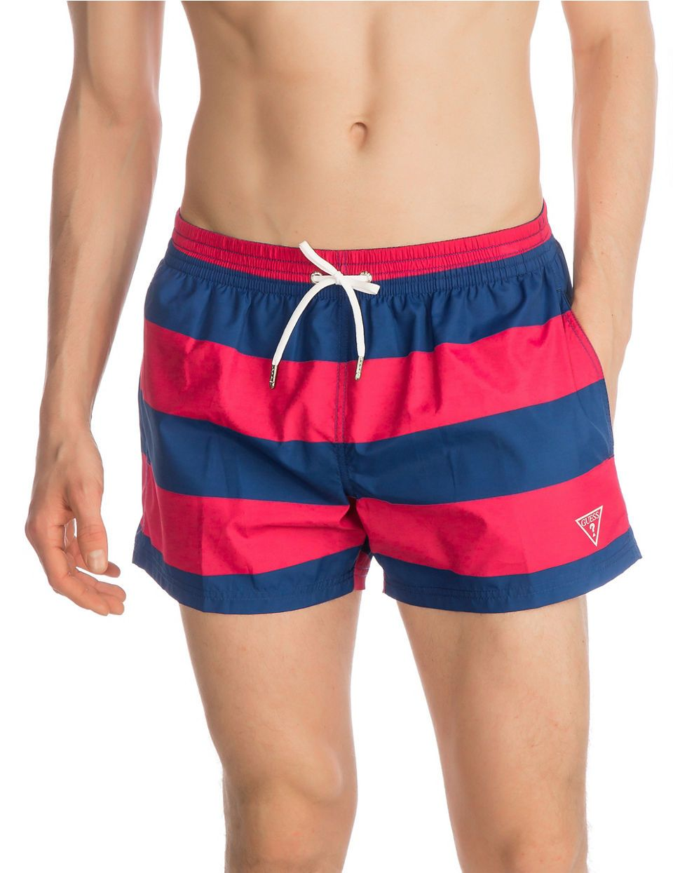 a891bfa9c8d82 Marques | Maillots de bain | Woven Printed Short Swim Trunks | La Baie D'