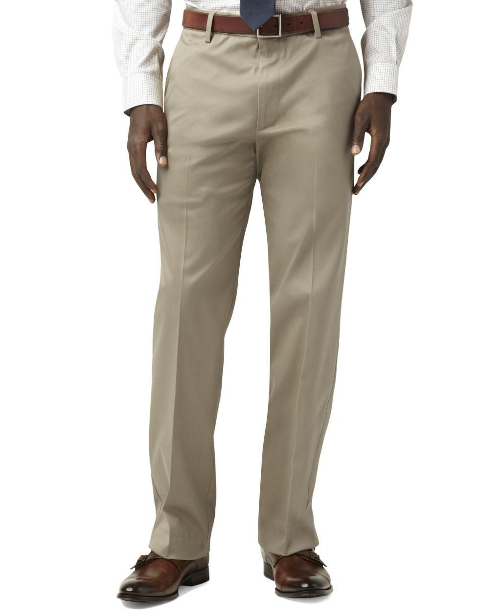 Dockers Iron Free Straight Fit Flat Front Pants - Brought to you by Avarsha.com
