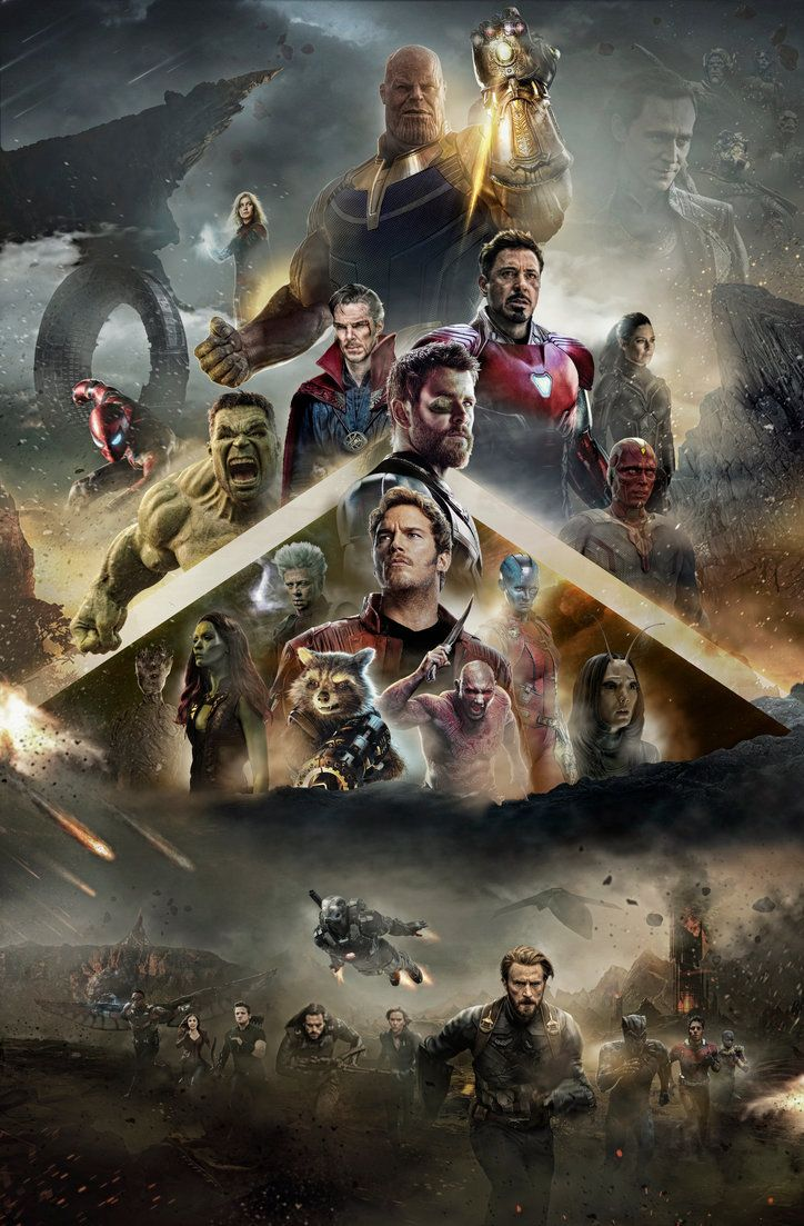 made this extended avengers infinity war poster, which i also have