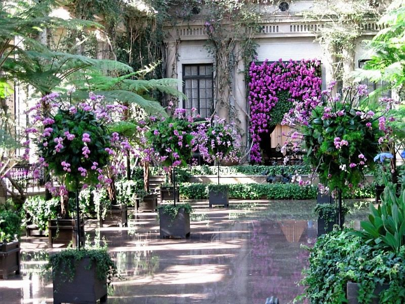 Beautiful Longwood Conservatory Commissioned By Pierre Samuel Du Pont. It Was  Designed And Constructed By J