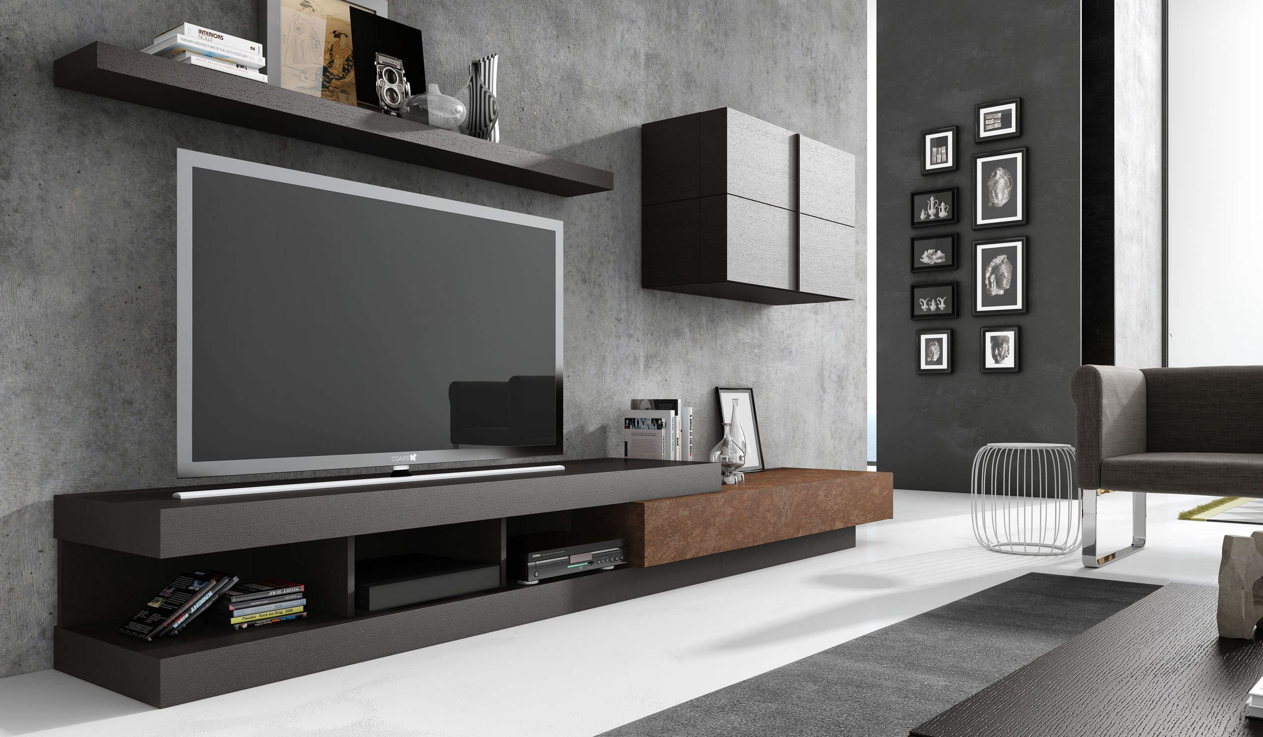 Inspirant Meuble Tv Contemporain Design Meuble Tele Idees De