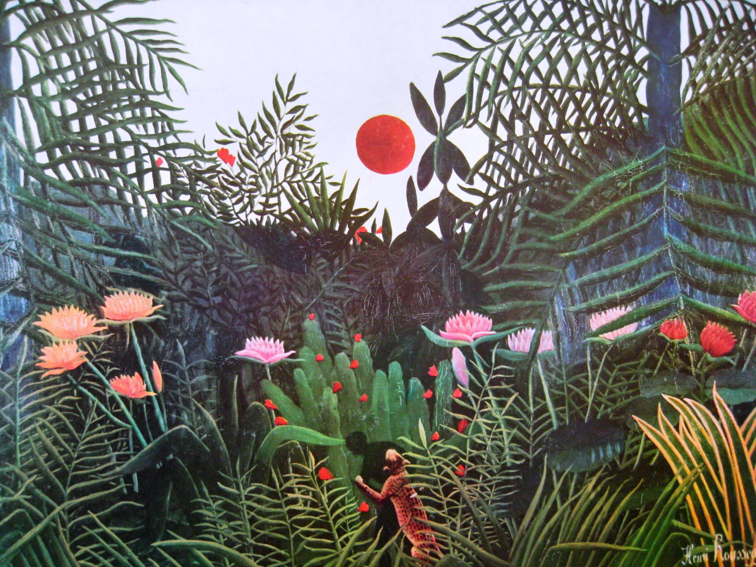 Henri Rousseau | Nature / photoshop | Pinterest | Henri rousseau ...
