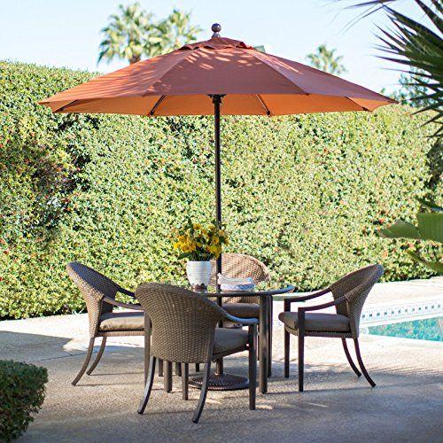 coral coast 9 ft sunbrella commercial grade aluminum wind resistant rh pinterest com