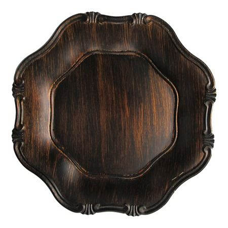 I pinned this Baroque Charger Plate (Set of 4) from the Second Nature event at Joss and Main!