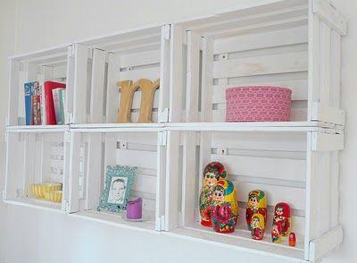 alte obstkisten als weinregal old fruit boxes as shelves home inspirations pinterest. Black Bedroom Furniture Sets. Home Design Ideas