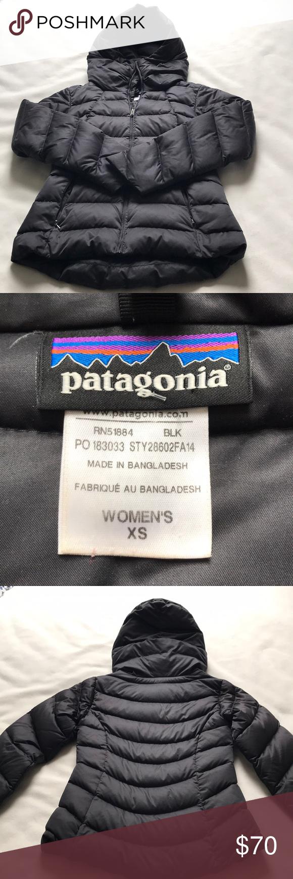 Women S Black Patagonia Puffer Jacket Size Xs Patagonia Puffer Jacket Black Patagonia Puffer Jackets [ 1740 x 580 Pixel ]
