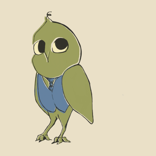 Awesome 'Smart+owl' design on TeePublic!