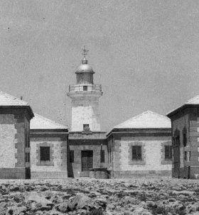 Faro de Punta Nati antic.. Menorca