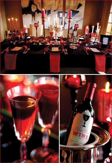 A Lush VAMPIRE,Style Dinner Party