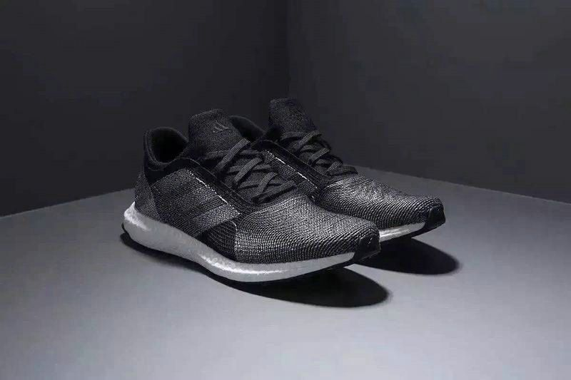 best website a8a9b 83d1e Adidas Futurecraft Tailored Fibre Boost Black Silver UK Trainers 2017 Running  Shoes 2017
