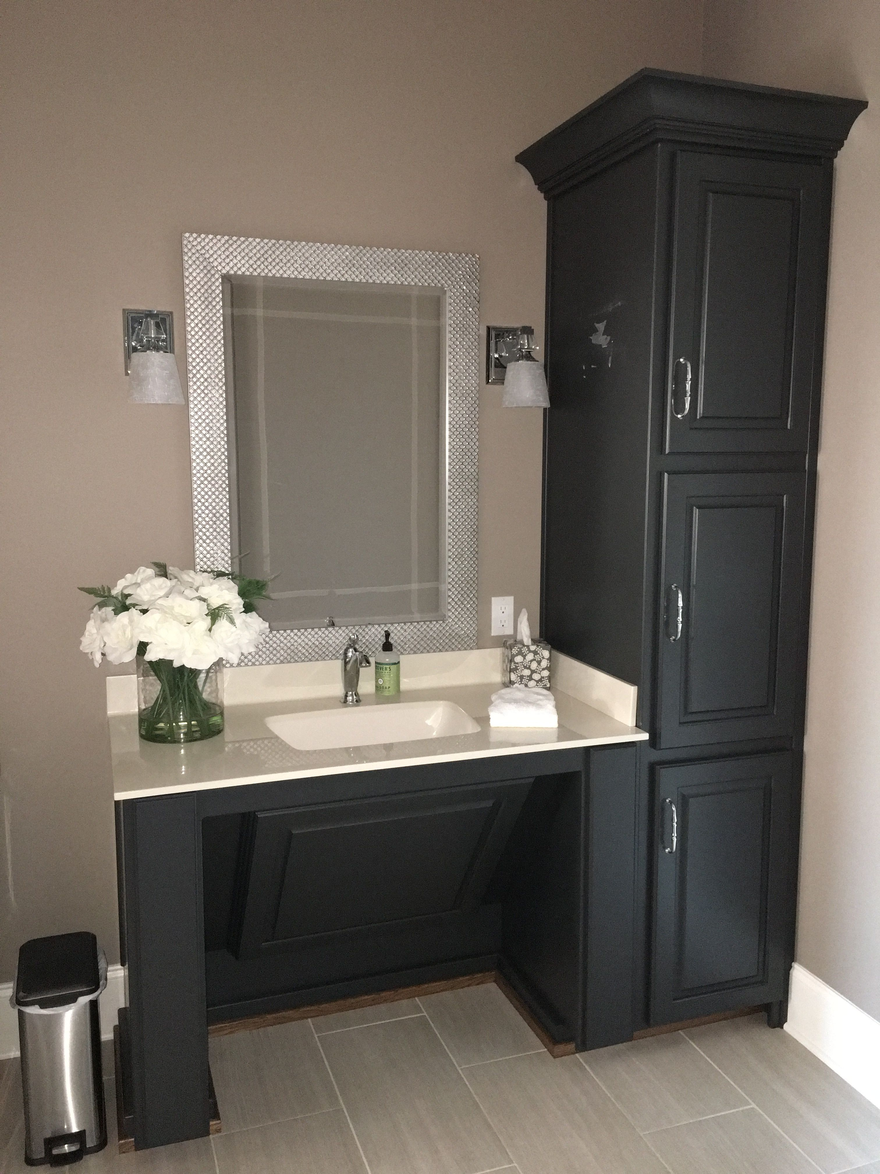 Image Result For Wall Mounted Bathroom Sink With Counter Space For