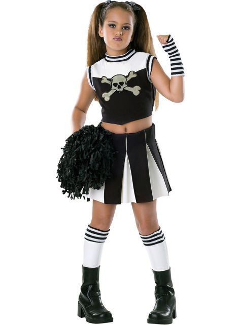 Girls Bad Spirit Cheerleader Costume Party City Halloween