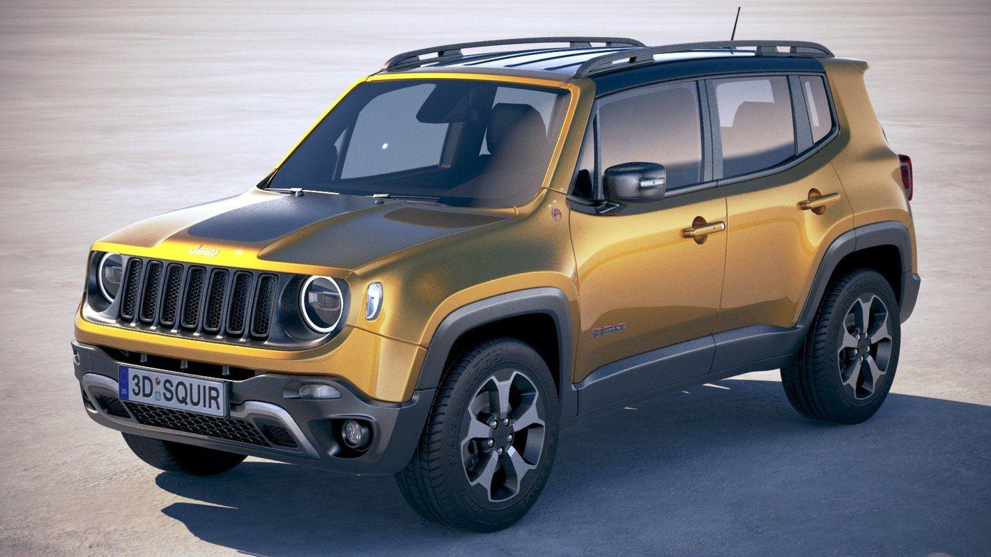 3d Model Jeep Renegade 2019 Jeep Renegade Jeep Autos
