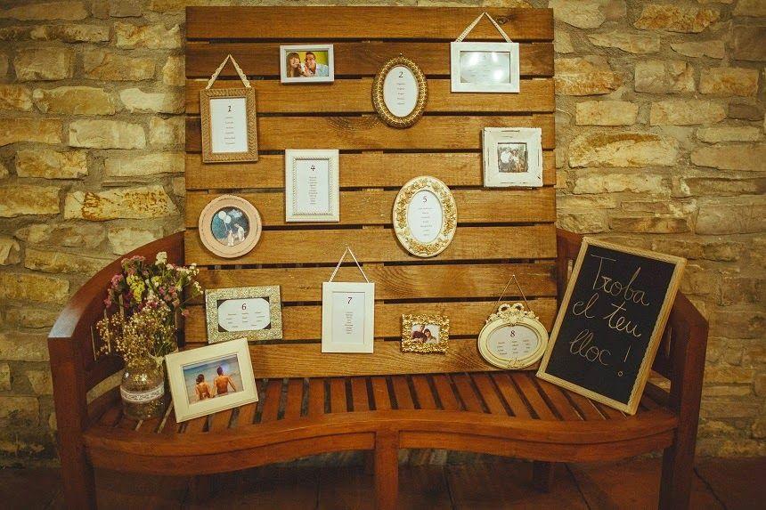 ¡Qué bonito #sitting prepararon David & Patricia! Recuerdos de una #boda con detalles entrañables...!!! #DIY #bodas2014