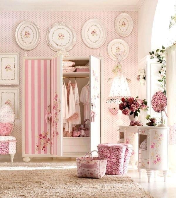 Pink Striped Wardrobe
