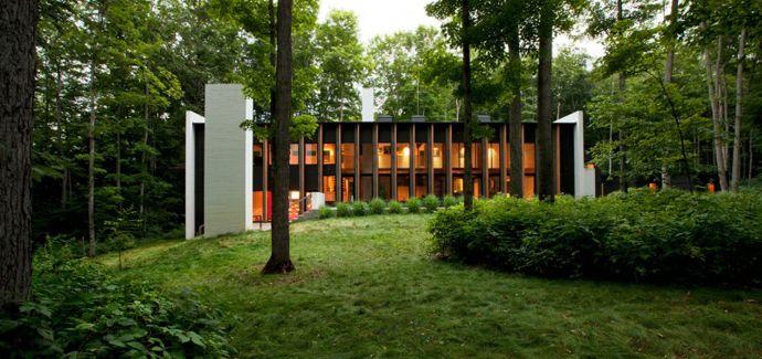 {title} (mit Bildern) Moderne villa, Waldhaus