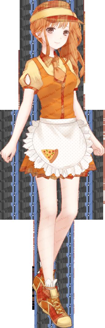 Love Nikki Fast Food Waitress Nikki
