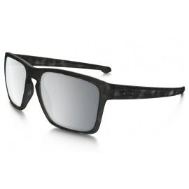 59e1de8595 Oakley Sliver XL Polarized sunglasses Matte Black Tortoise frame   Chrome  Iridium Polarized lens(Asia Fit)