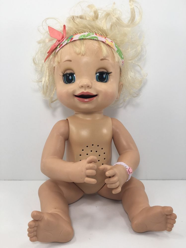 2007 Baby Alive Hasbro Learns To Potty Interactive Soft Faced Works Video 02 Baby Alive Baby Alive Food Baby Girl Dolls