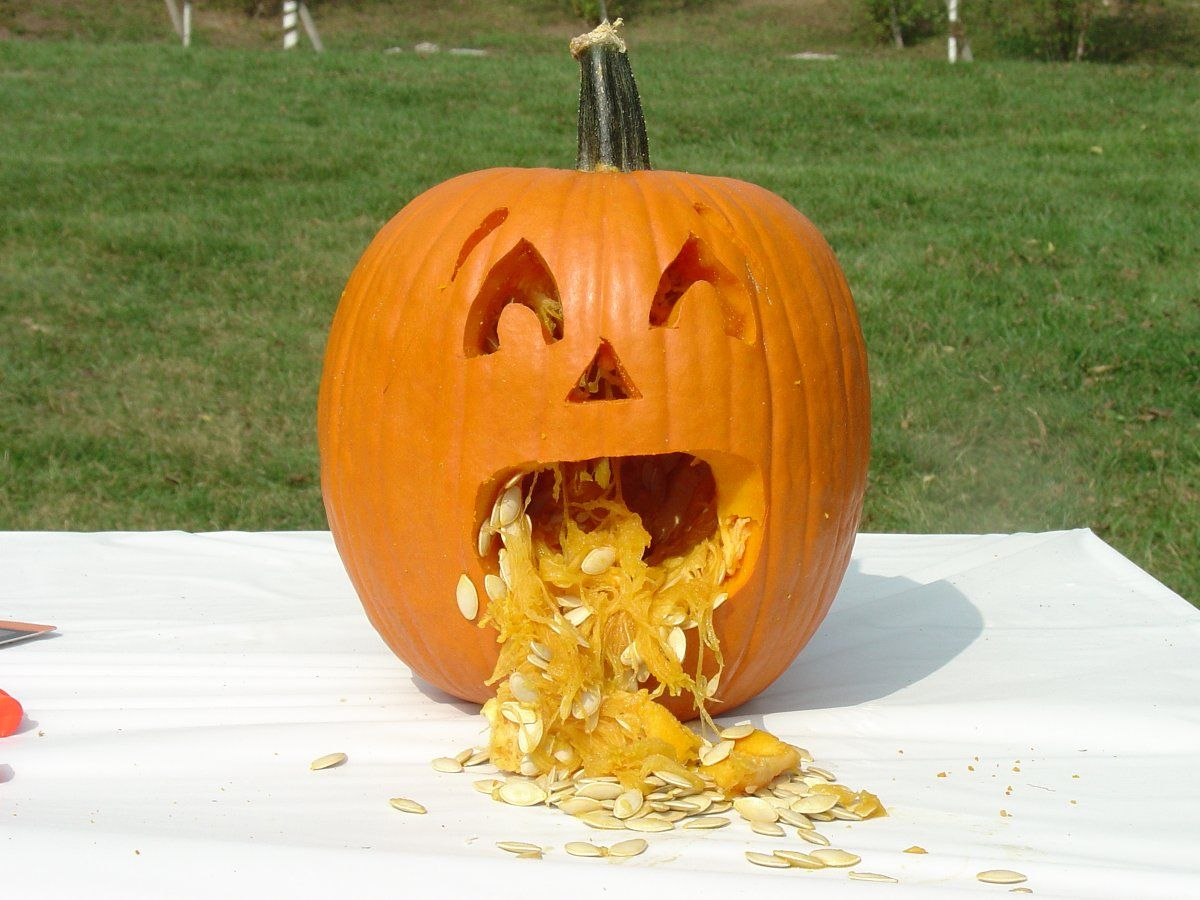 Cool easy pumpkin carving ideas but then i found the