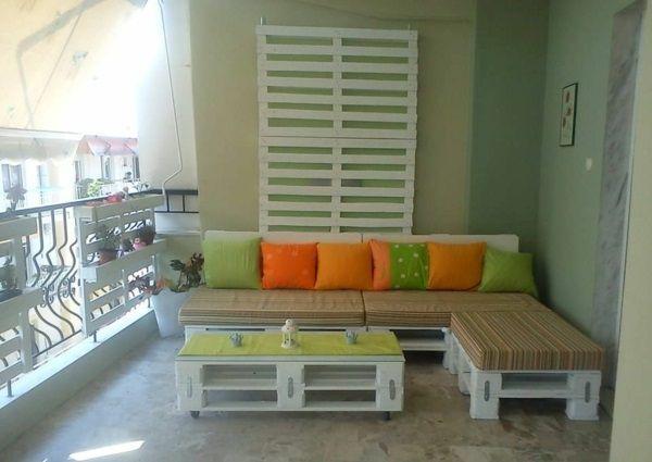100 möbel aus paletten - schöne wohnideen für sie | garten und
