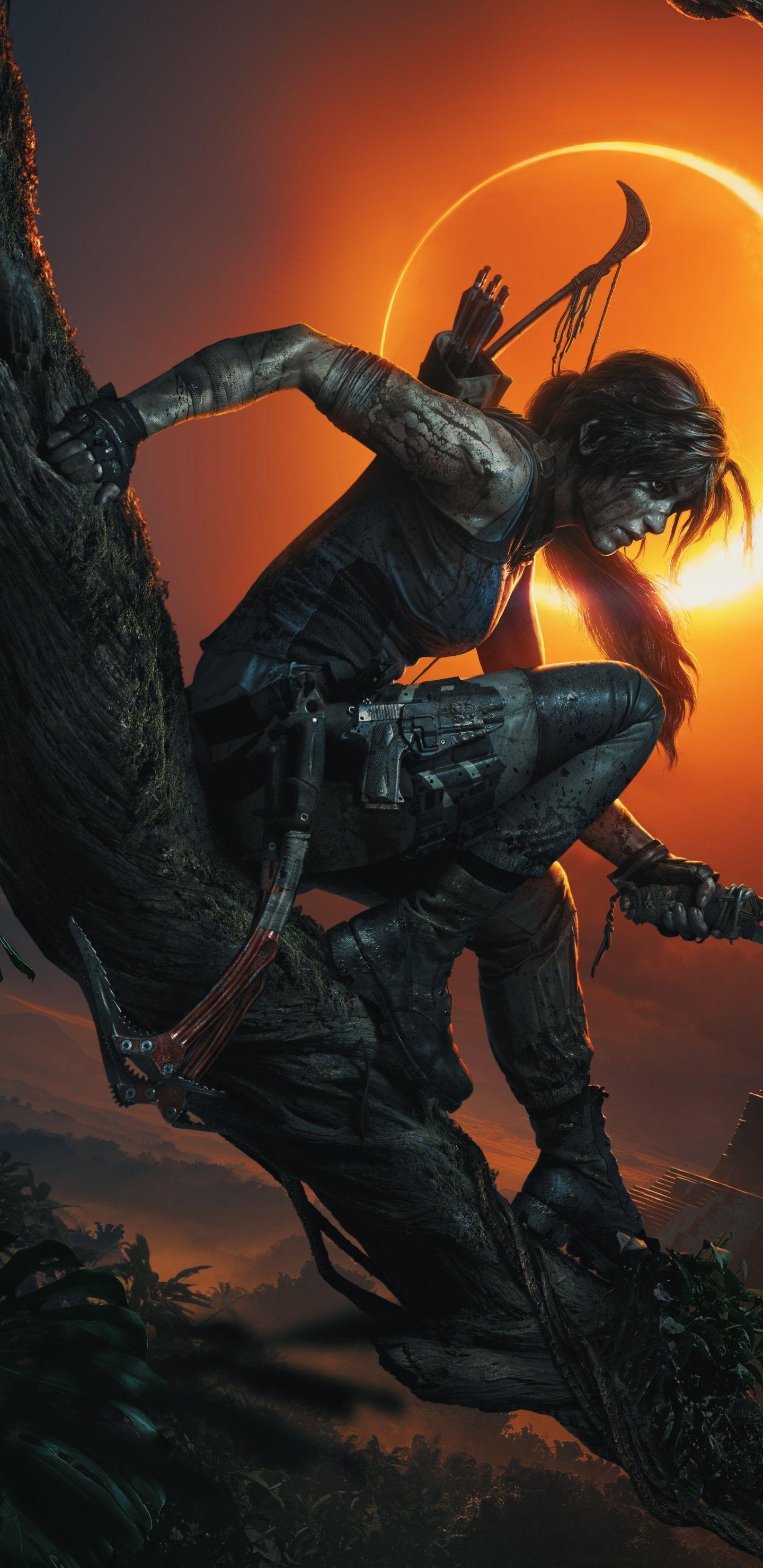 Shadow Of The Tomb Raider Wallpaper Jogos Ps4 Arte De Jogos