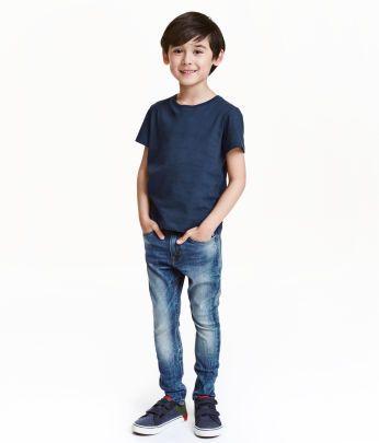 Kids Boys Size 1 1 2 10y H M Us Skinny Fit Jeans Clothes Jeans Kids