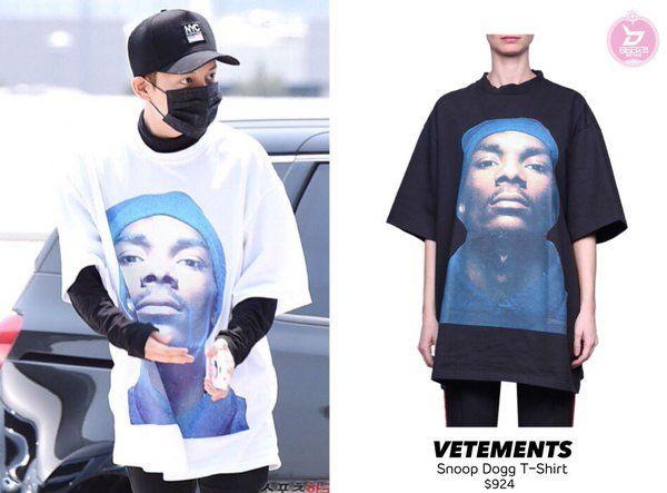 03372cdfe30d7 VETEMENTS - Snoop Dogg T-Shirt $924 | Vetements snoop dogg | Mens ...
