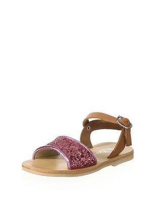 75% OFF OCA-LOCA Kid's Glitter Sandal (Rosa)
