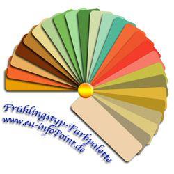 Eine farbpalette zur unterst tzung der farbberatung f r - Farbkarten kostenlos ...