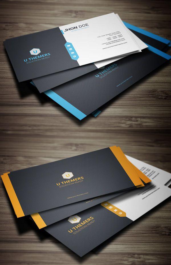 25 New Elegant Business Card Psd Templates Design Graphic Design Junction Elegant Business Cards Design Classic Business Card Business Card Design Creative